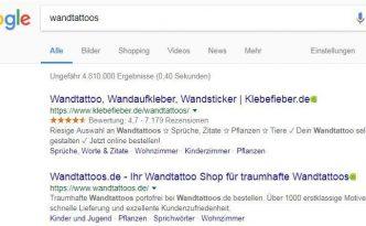 google-ergebnisliste